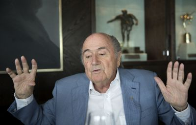Blatter says he leaves football