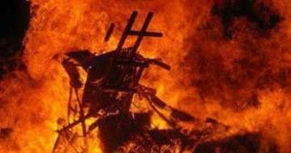В Абшероне сгорел салон красоты