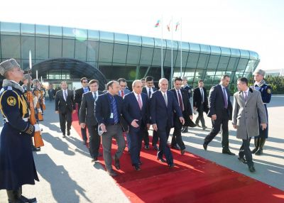 Afgan President ends his visit to Azerbaijan