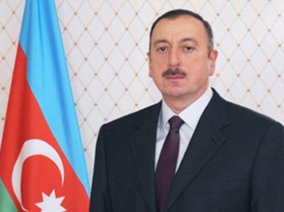 Президент поздравил азербайджанцев мира