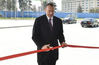 Президент принял участие в открытии Центра культуры в Зиря