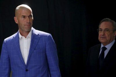 «Реал» подтвердил назначение Зидана главным тренером