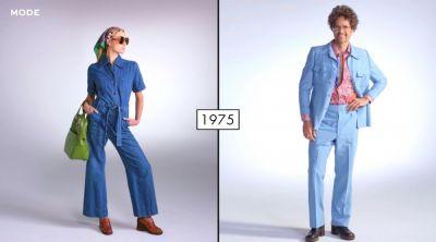 Мода последних 100 лет в двух минутах