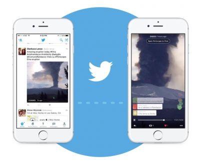 Twitter разрешит встраивать трансляции Periscope в сообщения