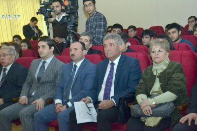В Университете «Азербайджан» состоялось мероприятия посвящённое годовщине трагических Январских событий