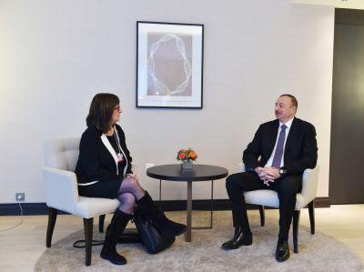 Президент встретился с вице-президентом Microsoft Corporation