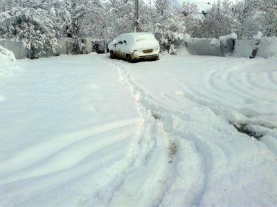Высота снежного покрова в районах достигла 41 см