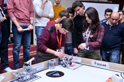 В БВШН прошли соревнования по роботехнике