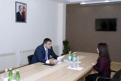 Министр принял граждан из южного региона