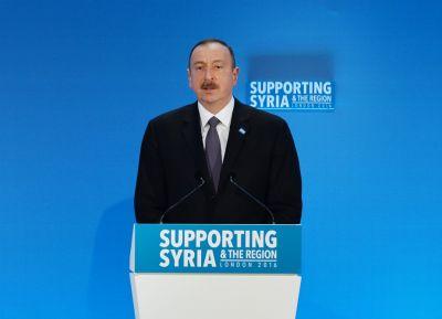 Президент принял участие в конференции «Поддержка Сирии и региона»