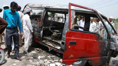 Partlayış nəticəsində 8 nəfər ölüb