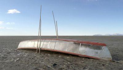 Nəhəng göl yoxa çıxdı - BOLİVİYADA