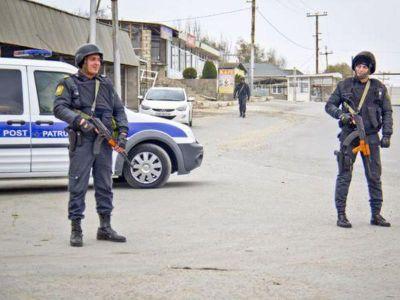 Nardarandakı polis postları yığışdırılıb