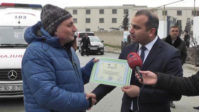 """""""Təmiz şəhər naminə hərəkətdə ol!"""" devizi altında veloyürüş keçirilib"""