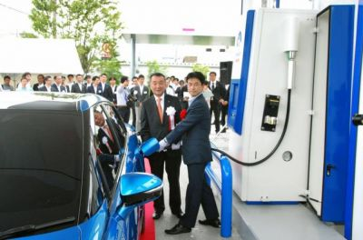 Yaponiyada hidrogen yanacaqdoldurma məntəqələri açılır