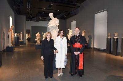 Мехрибан Алиева приняла участие в открытии катакомб Святых в Ватикане