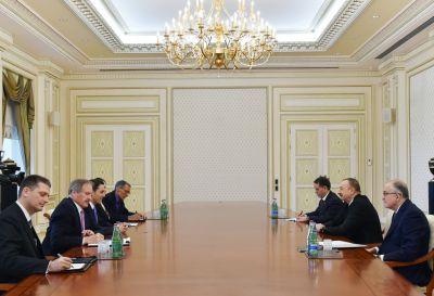 Президент Азербайджана принял специального посланника Госдепа США