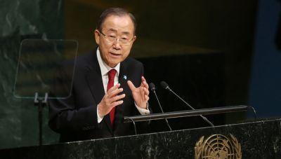 """Пан Ги Мун: """"Перемирие в Сирии в целом соблюдается"""""""