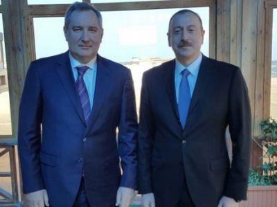 Президент Азербайджана встретился с вице-премьером РФ