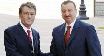 Прошла встреча Ильхама Алиева с Виктором Ющенко