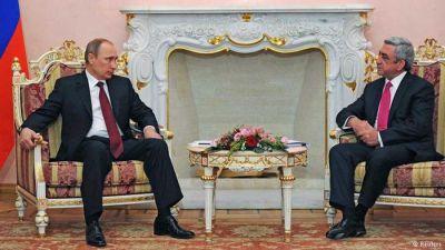 Президенты России и Армении обсудят нагорно-карабахский конфликт
