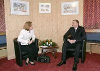 Прошла встреча президента Азербайджана с бывшим министром иностранных дел Израиля