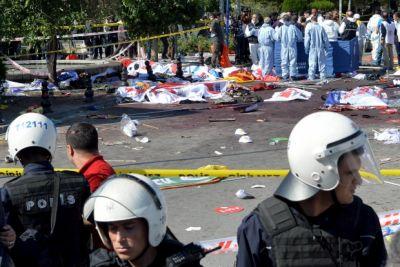 Целью теракта в Анкаре был полицейский автобус