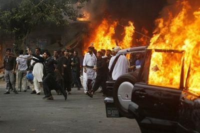 В Пакистане взорвался автобус