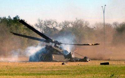 При крушении военного вертолета в Алжире погибли 12 человек