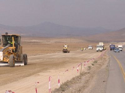 Дорога Баку-Шамахы стала опасной