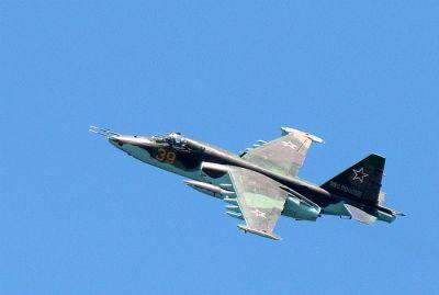 В России упал самолет СУ-25