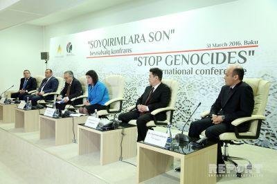 """В Баку проходит международная конференция """"Конец геноцидам"""""""