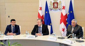 Премьер-министр Грузии провел встречу с азербайджанскими старейшинами