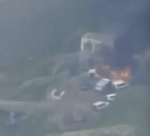Снята на видео операция по уничтожению командного центра Армении
