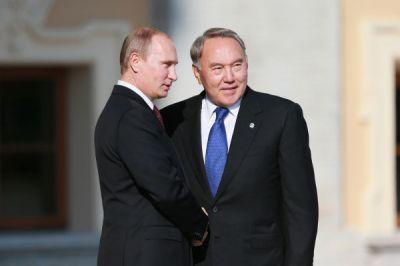 Путин и Назарбаев обсудили карабахский конфликт