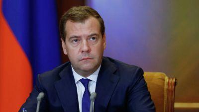 Медведев прибыл в Армению