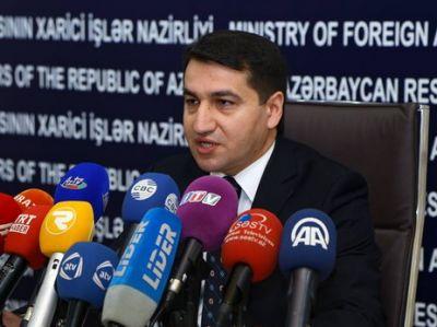 Хикмет Гаджиев: Армения несет ответственность, как оккупант