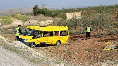 ДТП в Турции: Ранены 30 детей