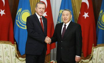 Назарбаев и Эрдоган приняли декларацию по «исламскому примирению»