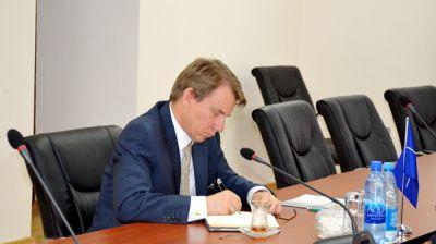 В Управлении Международного Военного Сотрудничества состоялась встреча с руководителем Координирующего Офиса по Южному Кавказу НАТО