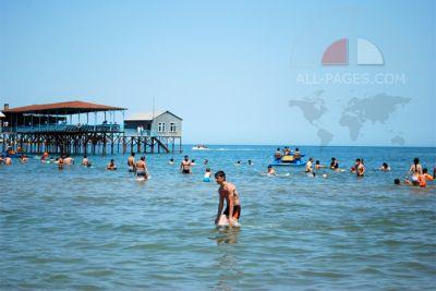 Каспийское море в первой пятерке мест отдыха