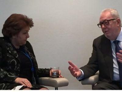 Председатель ПАСЕ встретился с главами армянской и азербайджанской делегаций