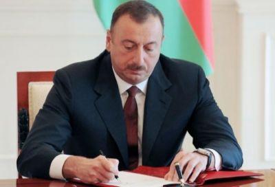 Ильхам Алиев отправил поздравительное письмо