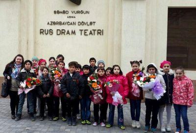 При поддержке банка ВТБ (Азербайджан) дети школы-интерната посетили театр