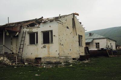 В результате армянской агрессии в Карабахе погиб 1 и ранены 8 мирных жителей