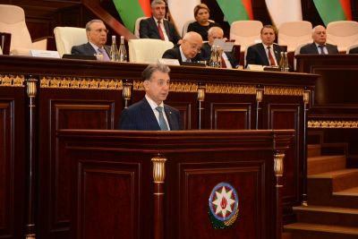 Академик Акиф Ализаде выступил с заключительным отчетным докладом о выполнении «Национальной Стратегии по развитию науки в Азербайджанской Республике в 2009-2015 гг.»
