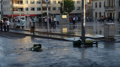 В турецкий город упал ракетный снаряд, есть погибшие