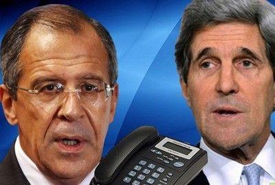 Лавров и Керри обсудили ситуацию в зоне карабахского конфликта