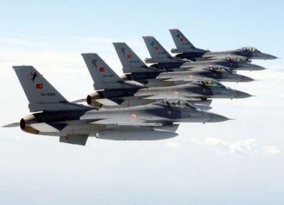 ВВС Турции разбомбили террористов на севере Ирака