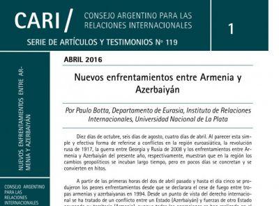 Пауло Ботта: Оккупированные Арменией территории являются неотъемлемой частью Азербайджана